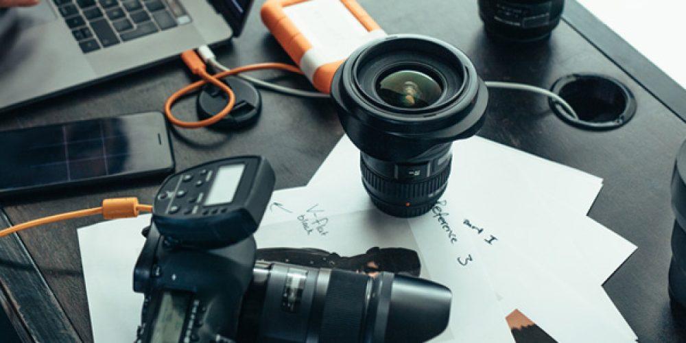 Vente en ligne de matériel photo et vidéo professionnel
